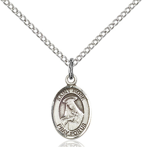 Image of St. Rose of Lima Pendant (Sterling Silver)