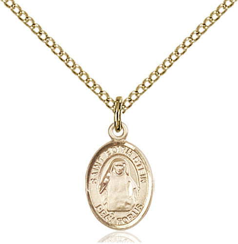 Image of St. Edith Stein Pendant (Gold Filled)