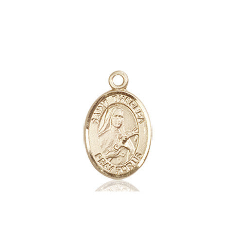 Image of St. Theresa Medal (14kt Gold)