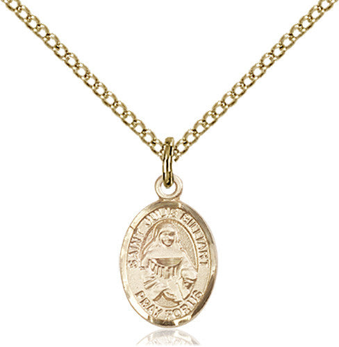 Image of St. Julie Billiart Pendant (Gold Filled)