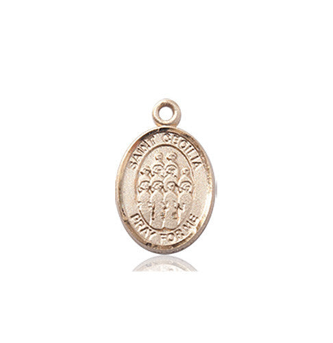 Image of St. Cecilia / Choir Medal (14kt Gold)