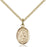 Image of St. Augustine of Hippo Pendant (Gold Filled)