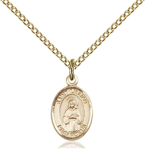 Image of St. Lillian Pendant (Gold Filled)