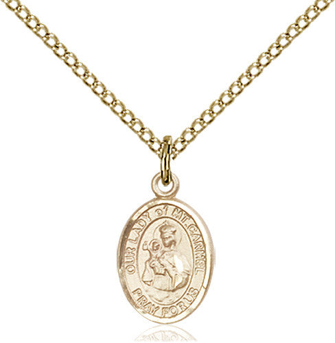 our_lady_mount_carmel_pendant