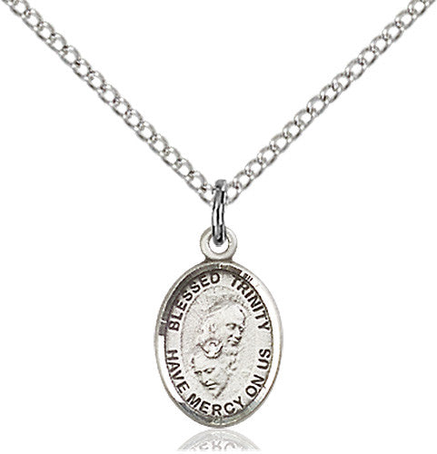 Image of Blessed Trinity Pendant (Sterling Silver)