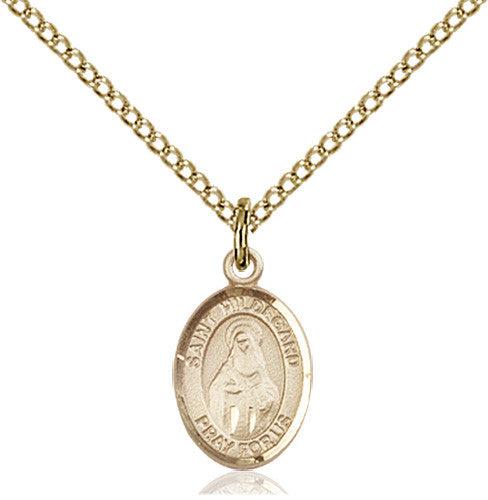 Image of St. Hildegard Von Bingen Pendant (Gold Filled)