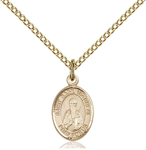 Image of St. Basil the Great Pendant (Gold Filled)