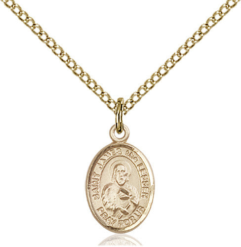 Image of St. James the Lesser Pendant (Gold Filled)