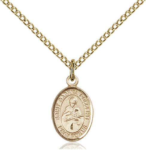 Image of St. Gabriel Possenti Pendant (Gold Filled)