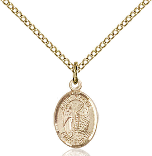 Image of St. Fiacre Pendant (Gold Filled)