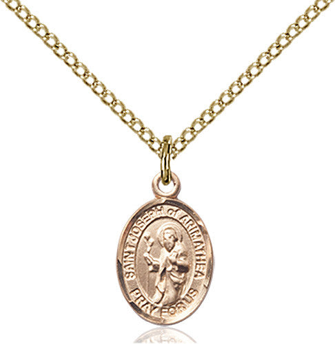 Image of St. Joseph Of Arimathea Pendant (Gold Filled)