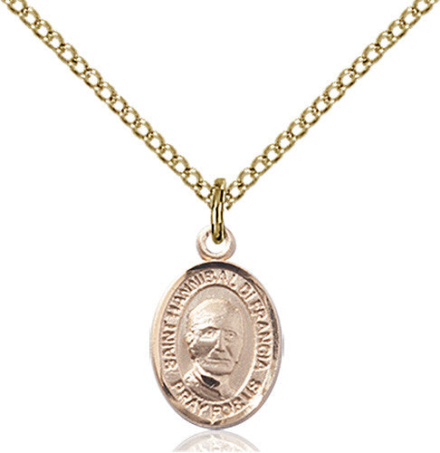 Image of St. Hannibal Pendant (Gold Filled)