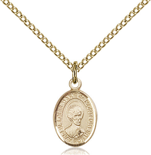 Image of St. Louis Marie De Montfort Pendant (Gold Filled)