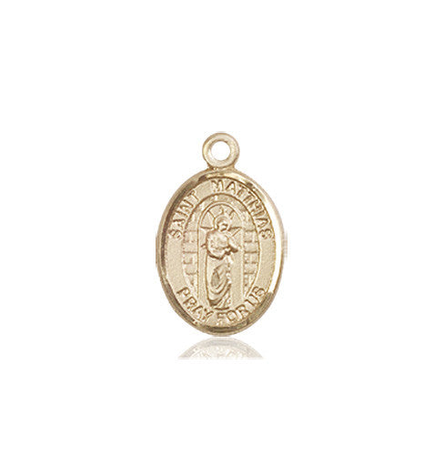 st_matthias_the_apostle_medal_14kt_gold