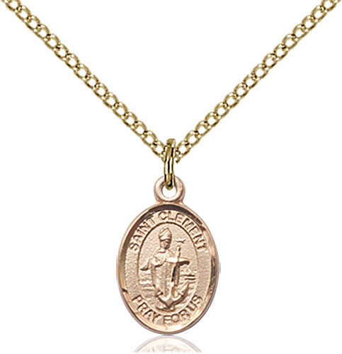 Image of St. Clement Pendant (Gold Filled)