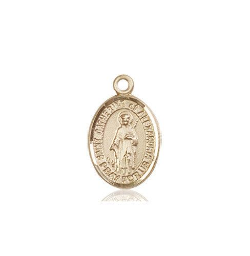 st_catherine_of_alexandria_medal_14kt_gold