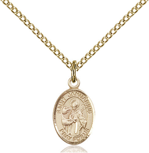 Image of St. Januarius Pendant (Gold Filled)