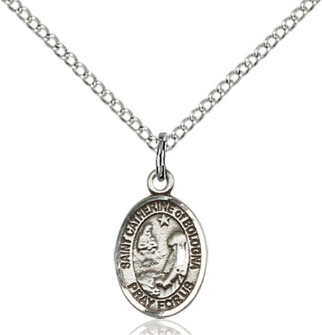 Image of St. Catherine Of Bologna Pendant (Sterling Silver)