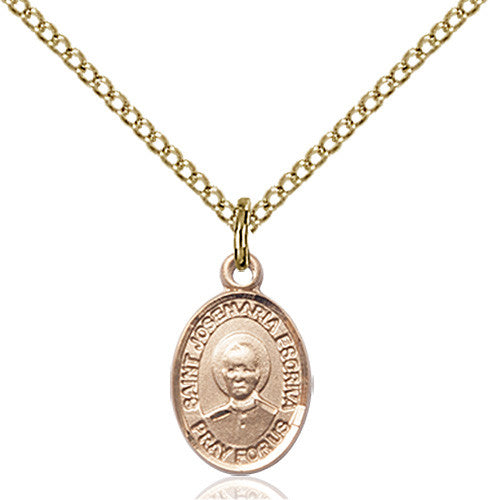 Image of St. Josemaria Escriva Pendant (Gold Filled)