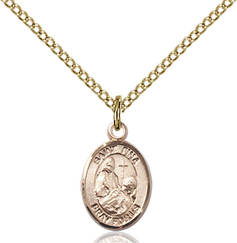 Image of St. Fina Pendant (Gold Filled)