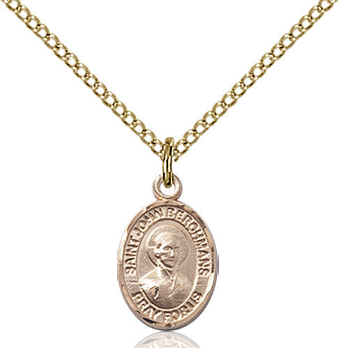 Image of St. John Berchmans Pendant (Gold Filled)