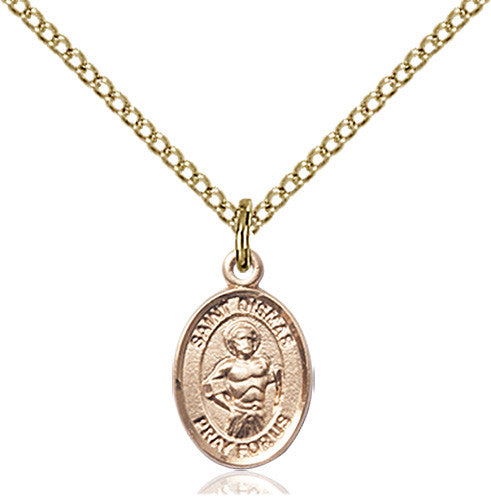 Image of St. Dismas Pendant (Gold Filled)