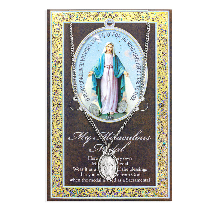 Miraculous Medal Picture Folder
