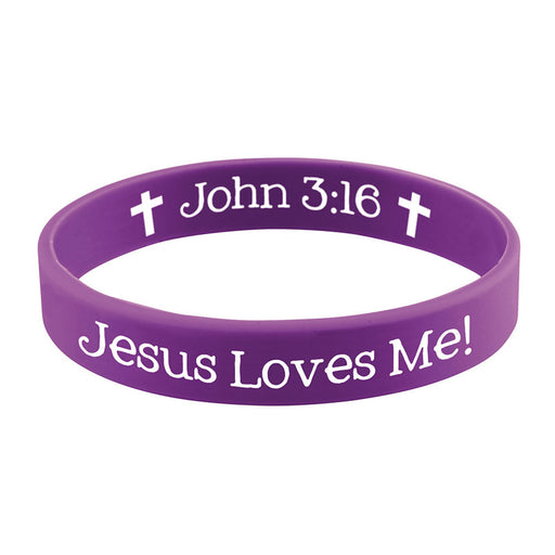 Jesus Loves Me Bracelet with Prayer Card