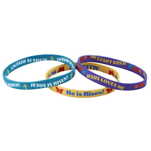 Jesus is Risen - Child's Easter Bracelets