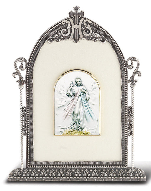 silver_plated_metal_frame