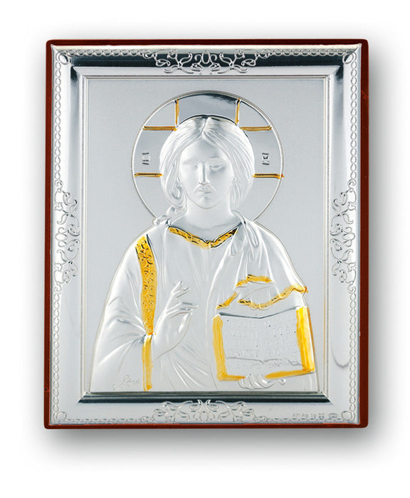 Christ the Teacher Sterling Silver Plaque