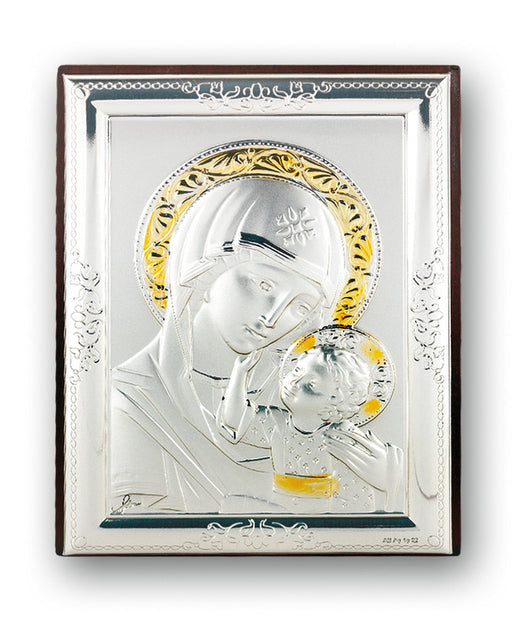Our Lady of Passion Sterling Silver Plaque