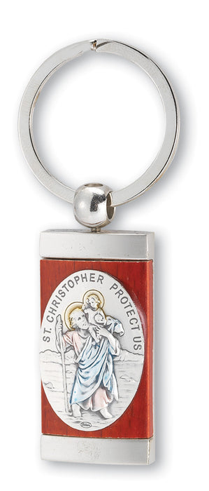 st_christopher_key_chain