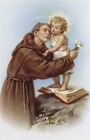 Image of ST. ANTHONY HOLY CARD