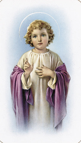 child_jesus_holy_card
