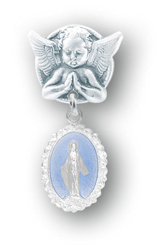 sterling_silver_baby_miraculous_medal_pin