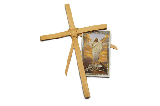 Palm Cross with Prayer Card