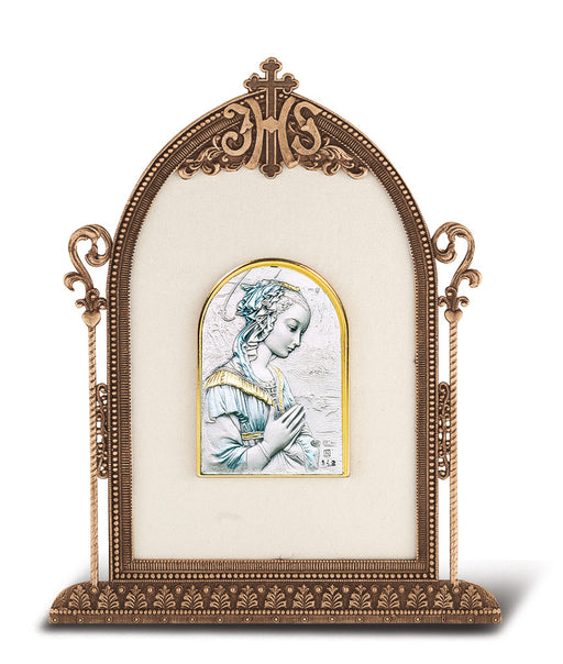 Madonna - Antique Bronze Gold Plated Metal Frame