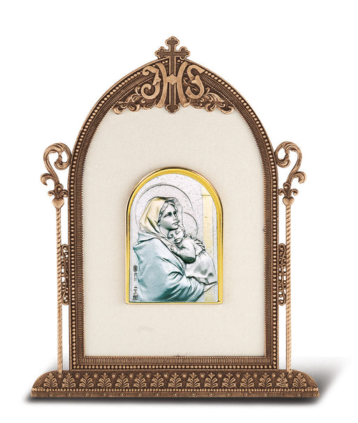 Madonna of the Street - Antique Bronze Gold Plated Metal Frame