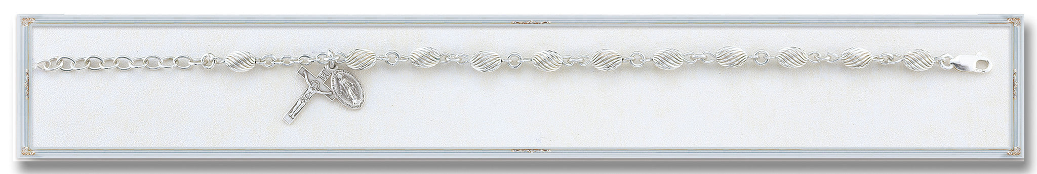 corrugated_oval_sterling_silver_bracelet
