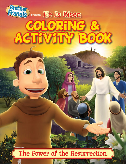 Brother Francis: He Is Risen! - 5 Pack Coloring Books
