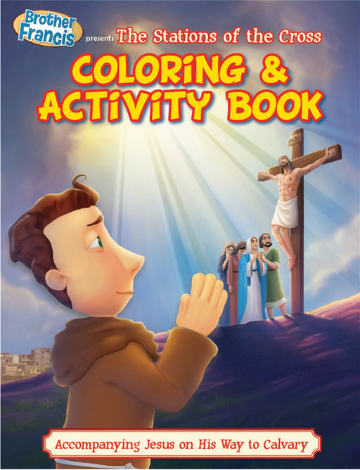 Brother Francis: Stations of the Cross - 5 pack coloring books