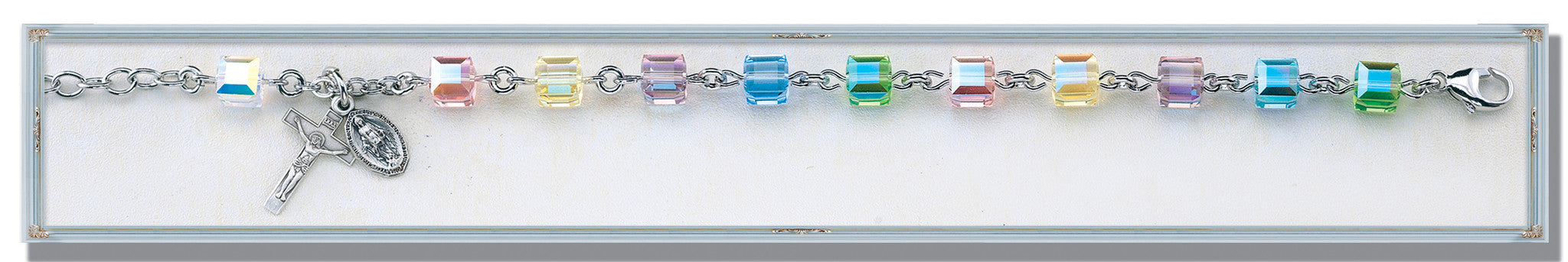 color_crystal_cube_bracelet