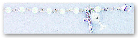 Image of 4MM CRYSTAL COMMUNION BRACELET