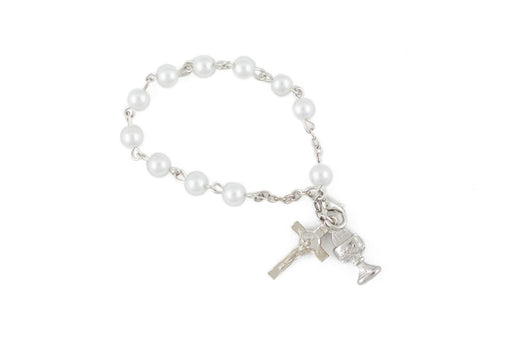 First Communion Girls Rosary Bracelet