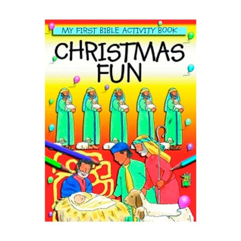Christmas Fun: Bible Activity Book