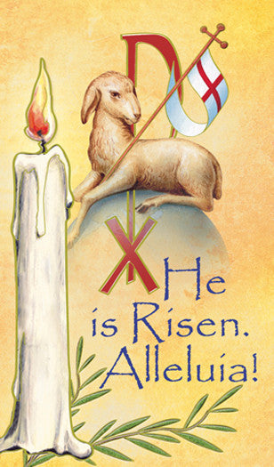 he_is_risen_holy_card