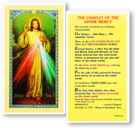 Image of CHAPLET OF THE DIVINE MERCY