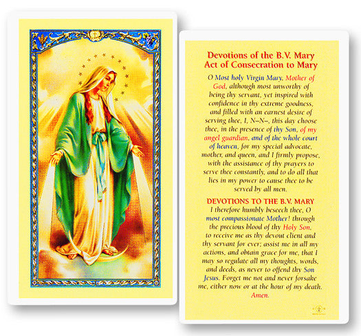 devotions_of_the_bv_mary_holy_card
