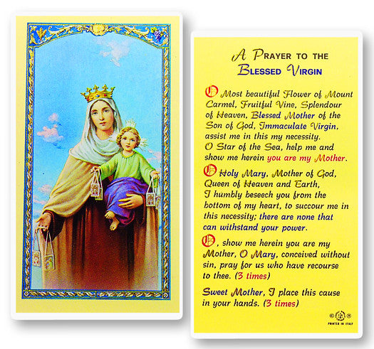 our_lady_of_mt_carmel_holy_card